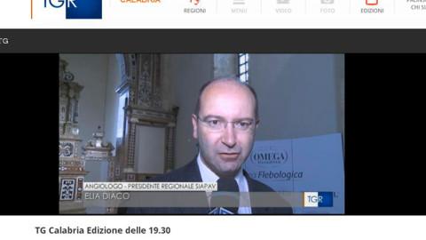 TGR RAI Calabria – 23.05.2016 – Dott. Elia Diaco