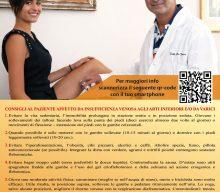 Consigli al Paziente Affetto da Insufficienza Venosa agli Arti Inferiori e/o da Varici